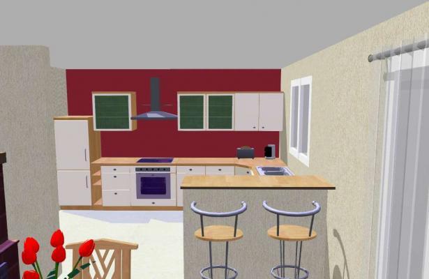 Image 3D cuisine
