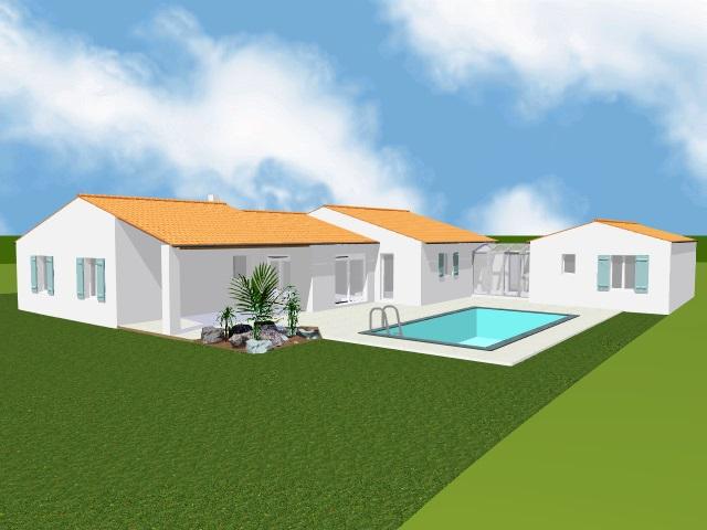 Projet 1 Vue coté piscine