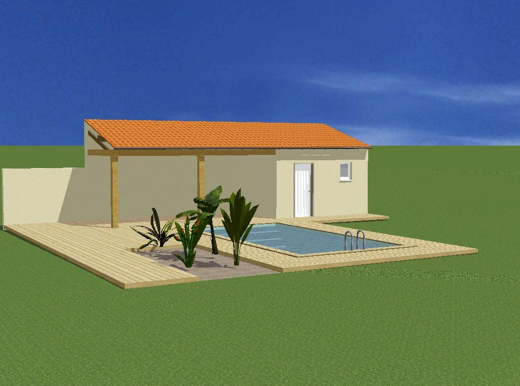 Projet 6 Piscine et poolhouse