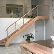 Vue mezzanine/escalier